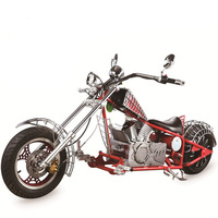 Adult Electric Harly Citycoco Electric Spider Man Motorcycle 72V20A 1500W with 80km/h