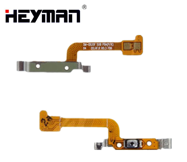 Heyman Flex <font><b>Cable</b></font> for Samsung G920F Galaxy S6 <font><b>Cell</b></font> <font><b>Phone</b></font>, (start button) Replacement parts
