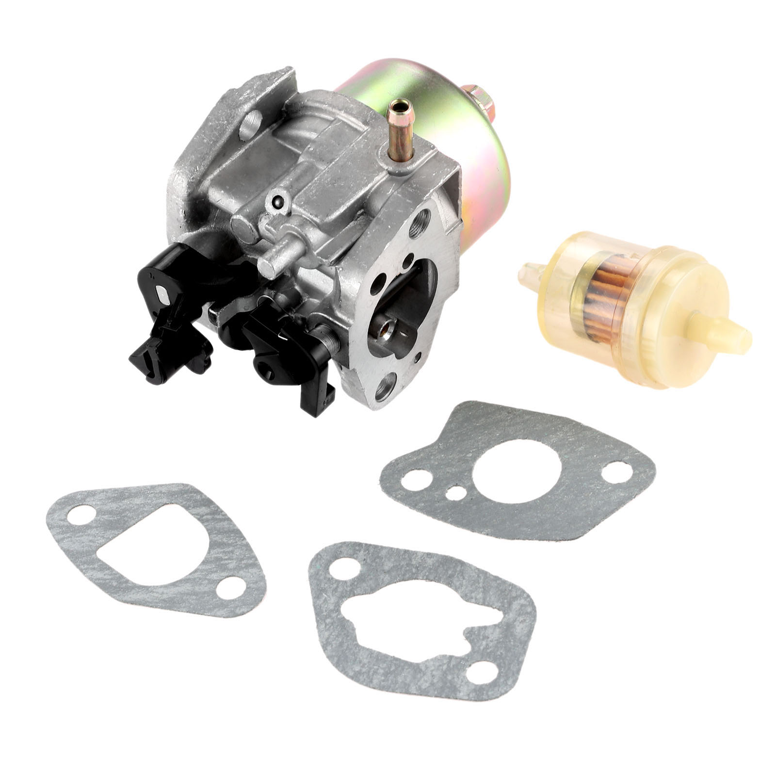 dreld carburetor with carburetor gasket fuel filter for mtd cub cadet troy bilt lawn mower engines [ 1600 x 1600 Pixel ]