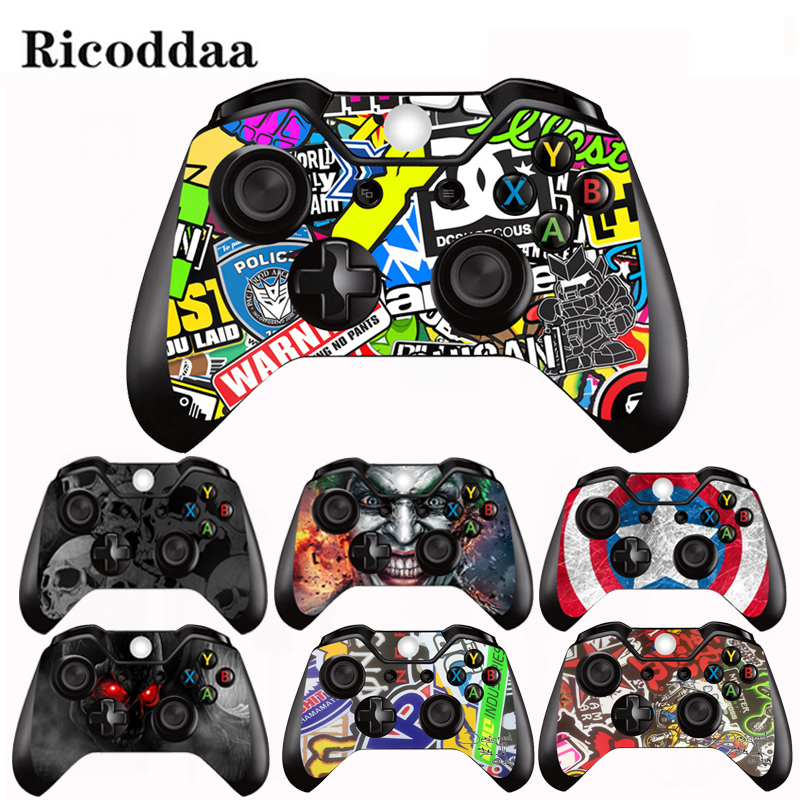 Sticker Skin-Decal-Accessory Gamepad Xbox-One Protective-Cover Microsoft Vinyl
