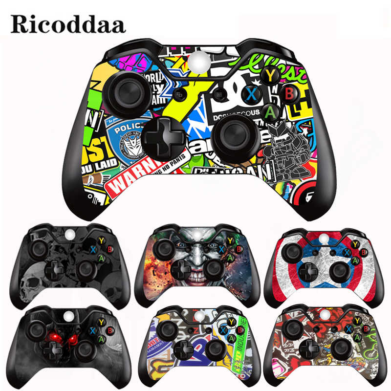 Vinyl Decal Sticker For Microsoft Xbox One/Slim Controller Protective Cover Sticker For Xbox One Gamepad Skin Decal Accessory