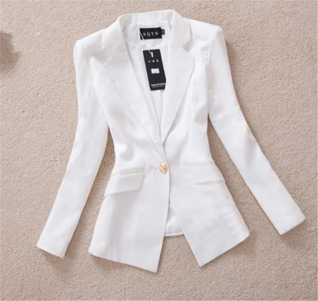 Free Shipping Black And White Color Blazers Suit For Juniors In