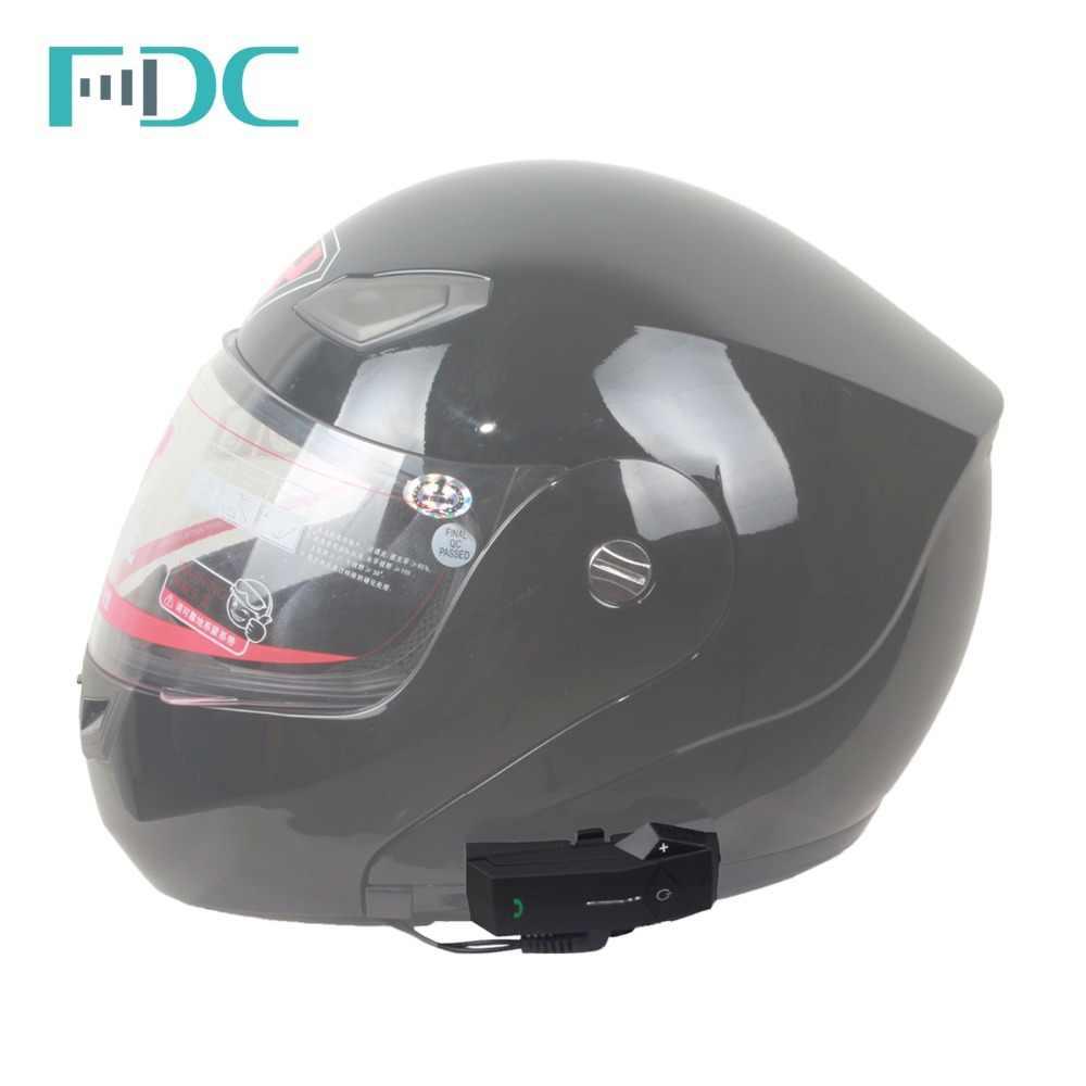 Freedconn COLO 1000 m Moto Casco intercomunicador Bluetooth Intercom Xe Máy Mũ Bảo Hiểm Tai Nghe Hỗ Trợ NFC FM Đài Phát Thanh