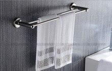 Bathroom Towel Holder Stainless Steel Rack Double Pole Bath Hanging стоимость