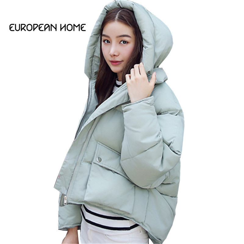 Jackets & Coats Liberal New 2019 Fashion Korean Winter Coat Women Plus Size Slim Thick Solid Color Loose Short Section Hooded Parka Jacket Women Lq260 Clearance Price
