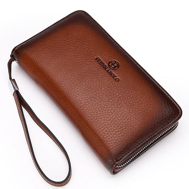 Mens' Luxury PU Leather Wallet