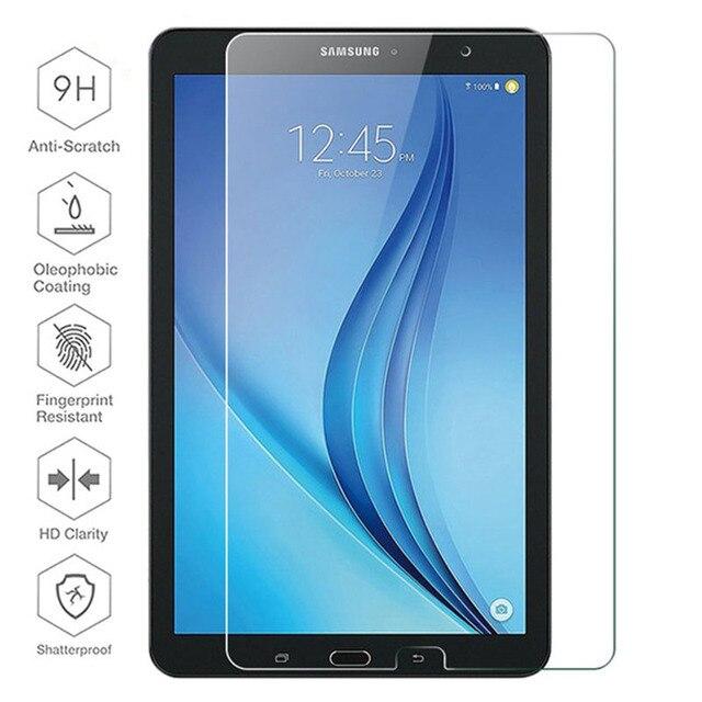 Samsung Galaxy Tab için E 9.6 cam sm t561 ekran koruyucu üzerinde de pantalla para T561 T560 temperli cam koruyucu film 9h 9 6