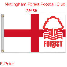 England Nottingham Forest FC decoration Flag B 3ft*5ft (150cm*90cm)