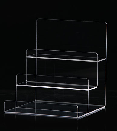 3 Layer Acrylic Clutch Bag Wallets Jewelry Accessories Display Holder Stand Retail Shop Display e cig acrylic display holder 20mm