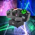 2017 Новое Прибытие 3 Головы 3X12 W LED Перемещение Головы Луч Света Мини 50 Вт RGBW Quad Цвет ЖК-Дисплей Для Бар Эффект Led Освещение Сцены