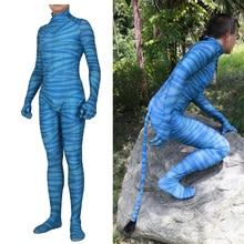Erwachsene Kinder Film Avatar 2 Cosplay Kostüm Zentai Bodysuit Nette Anzug Overalls Für Party Event Kostüme