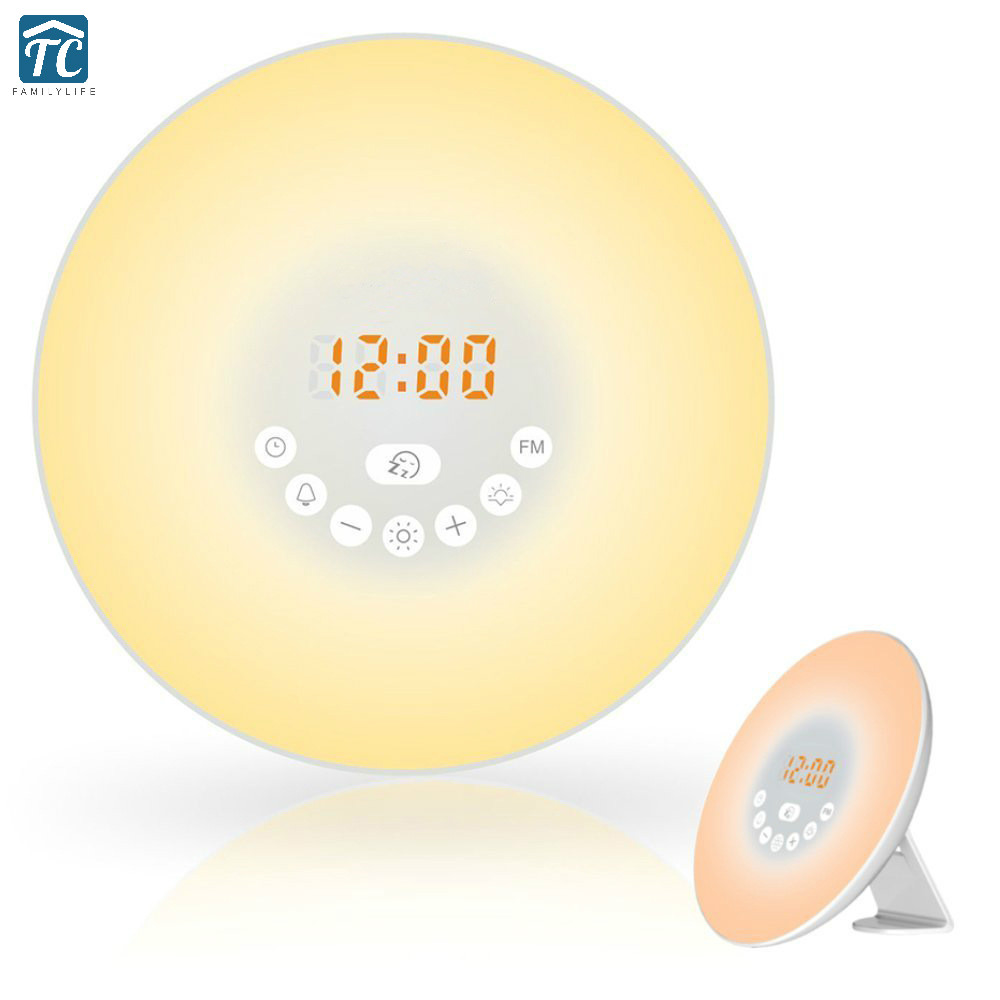 Alarm Clock Fm Smart Led Electronic Alarm Clocks Wake Up