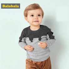 Balabala Sweater for Baby Boy Cotton Autumn Winter Infant Boys Sweater Lovely and Cute Animal Pattern Sweater Newborns Baby Boys(China)