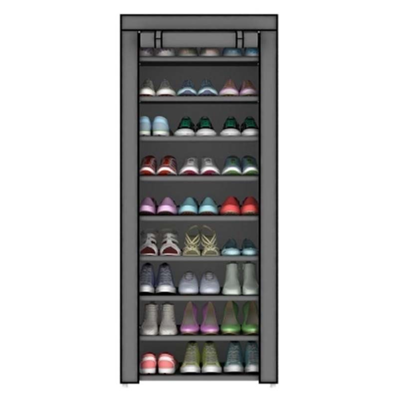 Furniture Shoe Cabinet Shoes Racks Storage Large Capacity Home Furniture Simple 10 layers