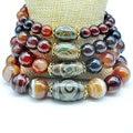 Yumten Diy Bracelet charms DIY Pulseras Pulseira Bangle New Trendy Bracelets Men Women Agate Dzi 925 Sterling Strand Bracelets