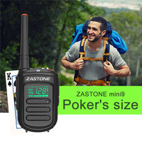 Zastone Mini9 DMR Mini Portable Digital Walkie Talkie 2W UHF 400 470MHz HF Transceiver Communicator Handheld Two Way Radio