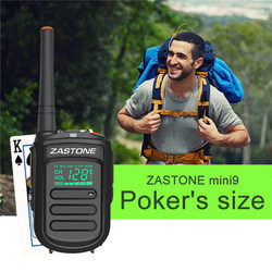 Zastone Mini9 DMR Mini Tragbare Digitale Walkie Talkie 2 W UHF 400-470 MHz HF Transceiver Communicator Handheld Zwei -weg Radio