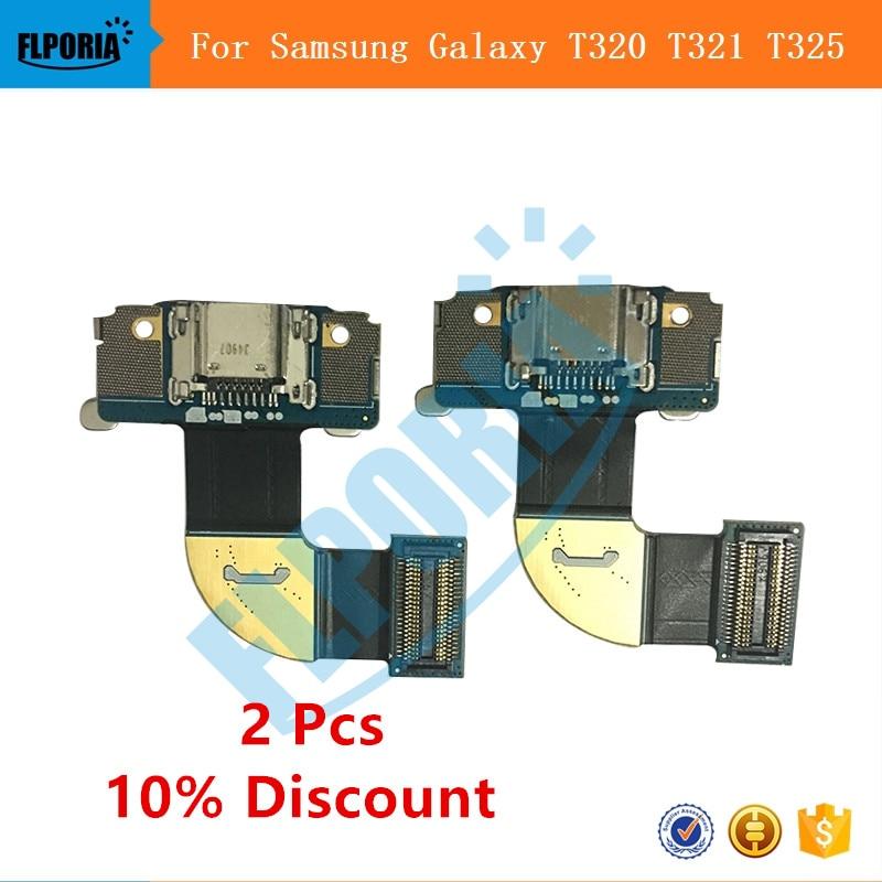Pour Samsung Galaxy Tab Pro 8.4 SM T320 T321 T325 Dock Jack connecteur chargeur USB Port de charge câble de remplacement
