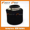 38mm Sponge Foam Air Filter Cleaner Staight Neck For 70 90 110 125CC Pit Dirt Bike Motorcycle ATV Monkey Bike Free Shipping