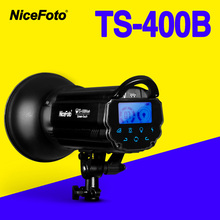 NiceFoto TS-400B 400W Studio Flash 2.4GHz built-in receiver TS400B Professional photography studio light lamp