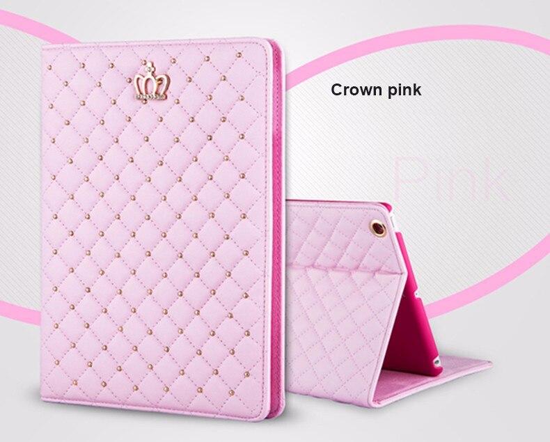 Bling Crown Coque for iPad mini 1 mini 2 mini 3 Case Luxury Stand A1432 A1454 A1490 Cover for iPad mini 1 2 3 Luxury Cover (2)