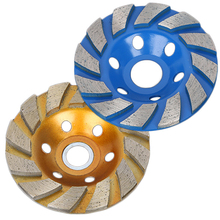 100mm Diamond Grinding Wheel Disc Concrete Masonry Granite Stone Tool 100mm diamond grinding wheel disc bowl shape grinding cup concrete granite stone ceramics tools