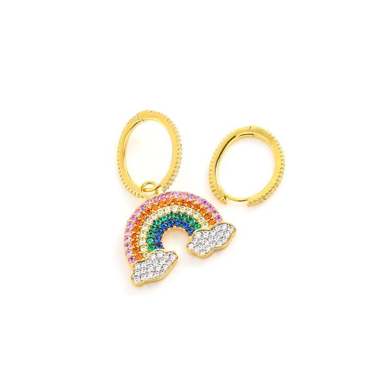 statement earrings dangle rustic triangle geometric minimalistic Eco friendly earrings recycled from plastic bottle lids