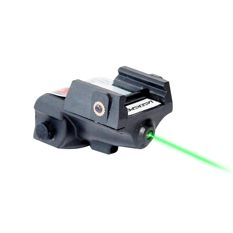 Laserspeed pistola mini laser verde tático militar recarregável para glock colt 1911 taurus arma de arma de mira laser vermelho