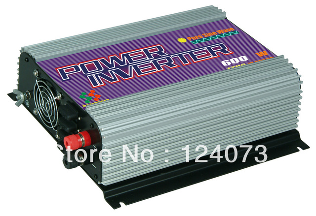 Free shipping,600W Pure sine wave power inverter (SUN-600PSW),MPPT Function,Wholesale with coupon
