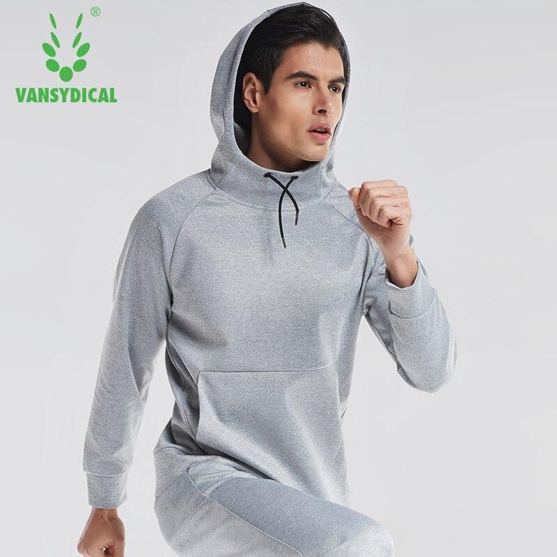 Automne hiver à manches longues à capuche hommes sport chemises pull sweat-shirt en cours d'exécution T-shirt hommes formation Polyester tenue