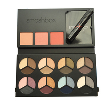 Smashboxes Photo Op Mega Palette Set: 8 Photo Op Eye Shadow Trios + 3 Blushes + Get the Look Pamphlet +Full Exposure