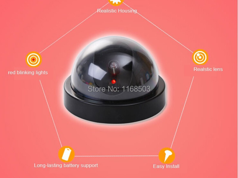 Indooroutdoor emulational fake decoy dummy dome camera with fake dome 2g mozeypictures Images