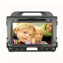 Hinten cam + für KIA Sportage 3 2010 2011 2012 2013 2014 2015 auto Dvd GPS Radio free karte SPSR Freies verschiffen