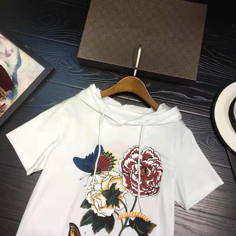 Fa02263 Femmes Design Partie Européenne 2019 amp; Pour Célèbre T Marque Vêtements Piste Haut Mode Luxe De Style shirts Femme rwqTOZrx6