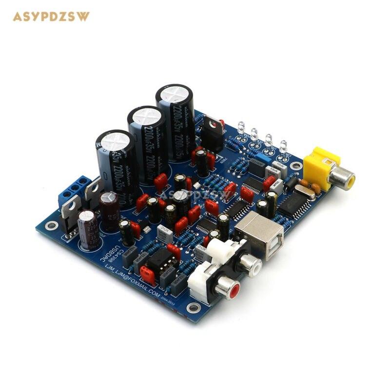 ak4396 vs cs4398 - Assembled CS8416 CS4398 DAC board with USB Coaxial 24/192K decoder finished board AC15V 32K-192K/24BIT