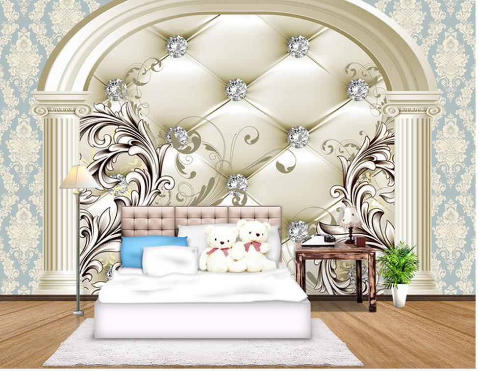 3D European style Drill Background wall painting photo 3d wallpaper Home Decoration living 3d wallpaper custom 3d wall mural wallpaper modern european style living room bedroom ceiling fresco background 3d photo wallpaper painting