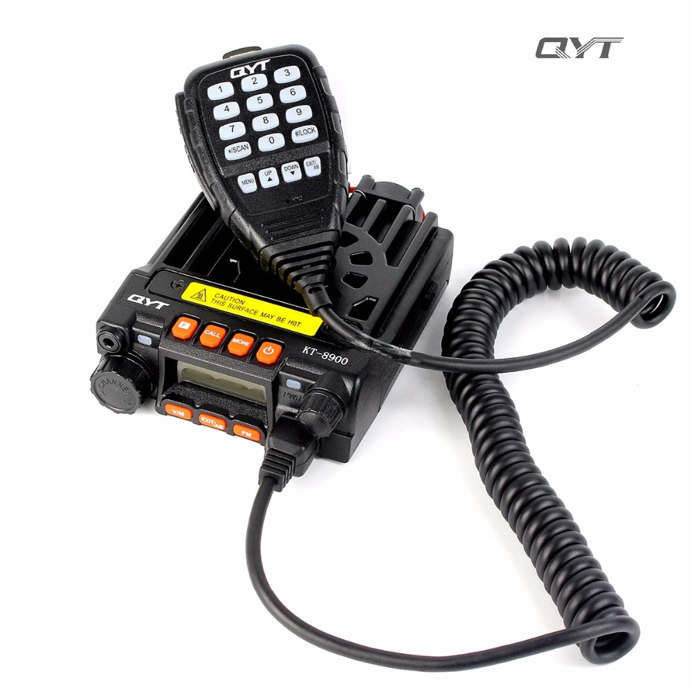 KT-8900D Dual Band Quad 5Tone 25W VHF UHF Car//Trunk Ham Mobile Radio Transceiver