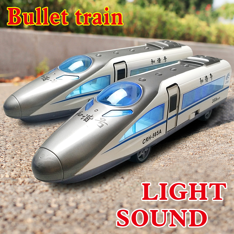1 Set 35cm Train Toys Power friction Train China Railway High-speed Trains Model simulation Light/sound Toys for Children Gifts