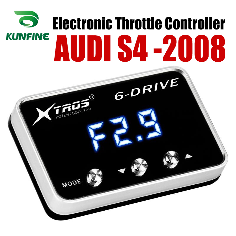Car Electronic Throttle Controller Racing Accelerator Potent Booster For AUDI S4 2008 Forwards Tuning Parts Accessory Car Electronic Throttle Controller Racing Accelerator Potent Booster For AUDI S4 2008 Forwards Tuning Parts Accessory