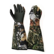 Adult camouflage diving catch fish catch shrimp protective gloves(China)