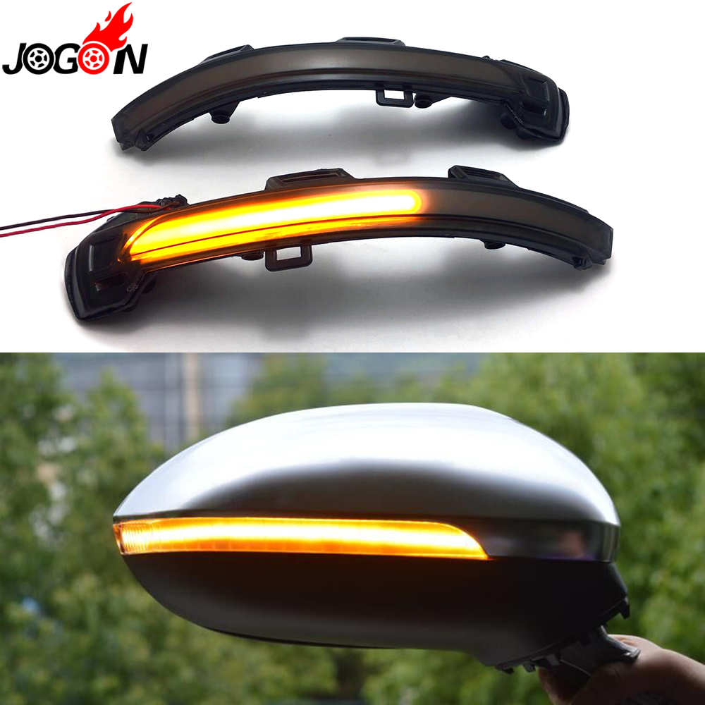 For VW Passat B8 GT 2015-2018 Arteon 2019 Car Side Wing Rearview Mirror Blinker Indicator LED Dynamic Turn Signal LightFor VW Passat B8 GT 2015-2018 Arteon 2019 Car Side Wing Rearview Mirror Blinker Indicator LED Dynamic Turn Signal Light