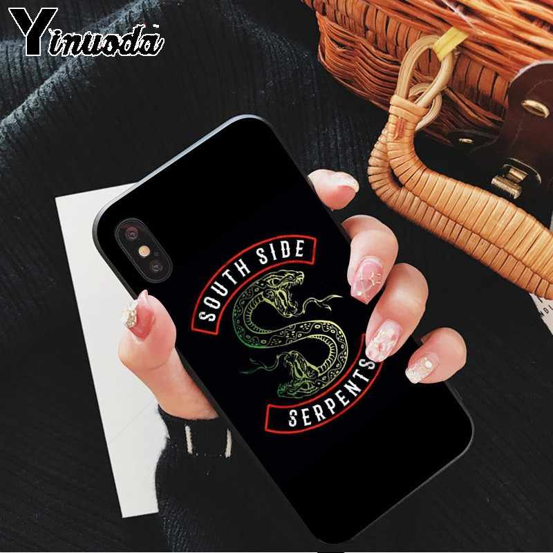 Yinuoda American Hot TV Riverdale Soft Silicone TPU Phone Cover for Apple iPhone 8 7 6 6S Plus X XS MAX 5 5S SE XR Cellphones