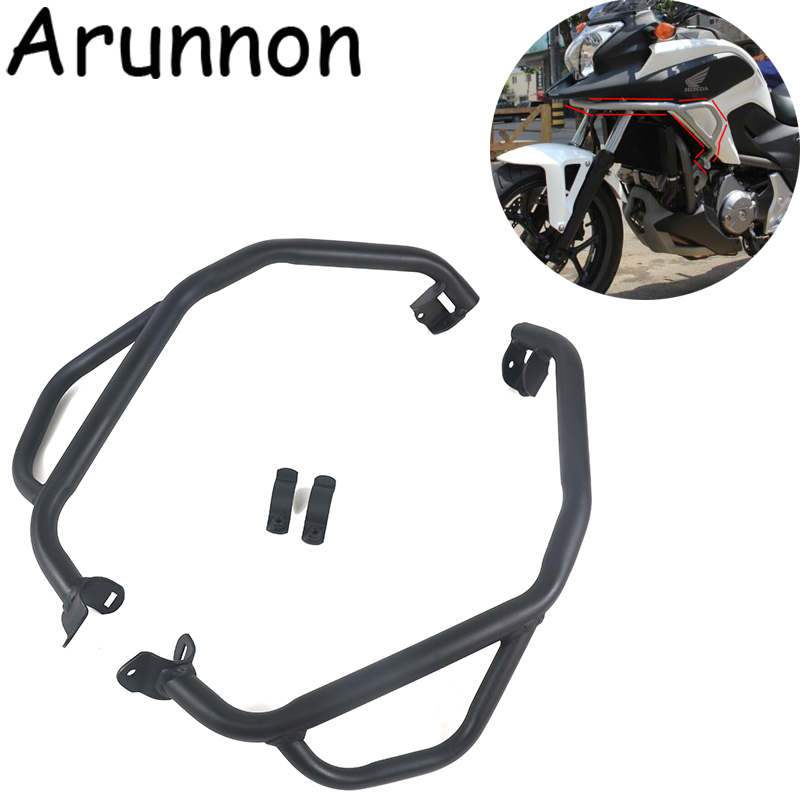 Free delivery Motorcycle Bumper Highway Engine Guard <font><b>Crash</b></font> <font><b>Bar</b></font> Frame Protect For <font><b>Honda</b></font> <font><b>NC700X</b></font> 750X NC700 NC750 X 2012-2017 image
