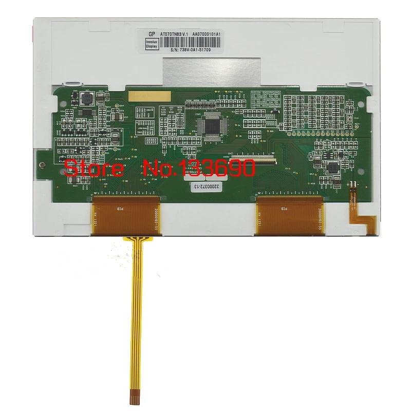 "7/"" 800×480 Resolution LCD Screen Panel For INNOLUX AT070TN83 V.1 AT070TN83 V1"