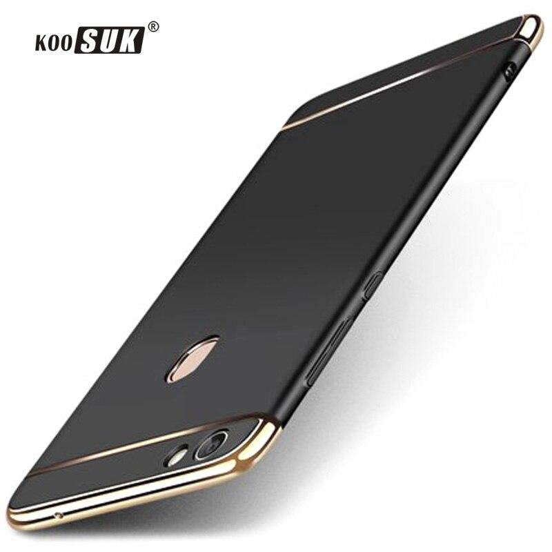 Vivo V7 Plus Case Back Cover Vivo V7 Y75 Koosuk 3 in1 Phone Protective Case For BBK Vivo V 7 Plus V7+ Y79 PC Shockproof Shell