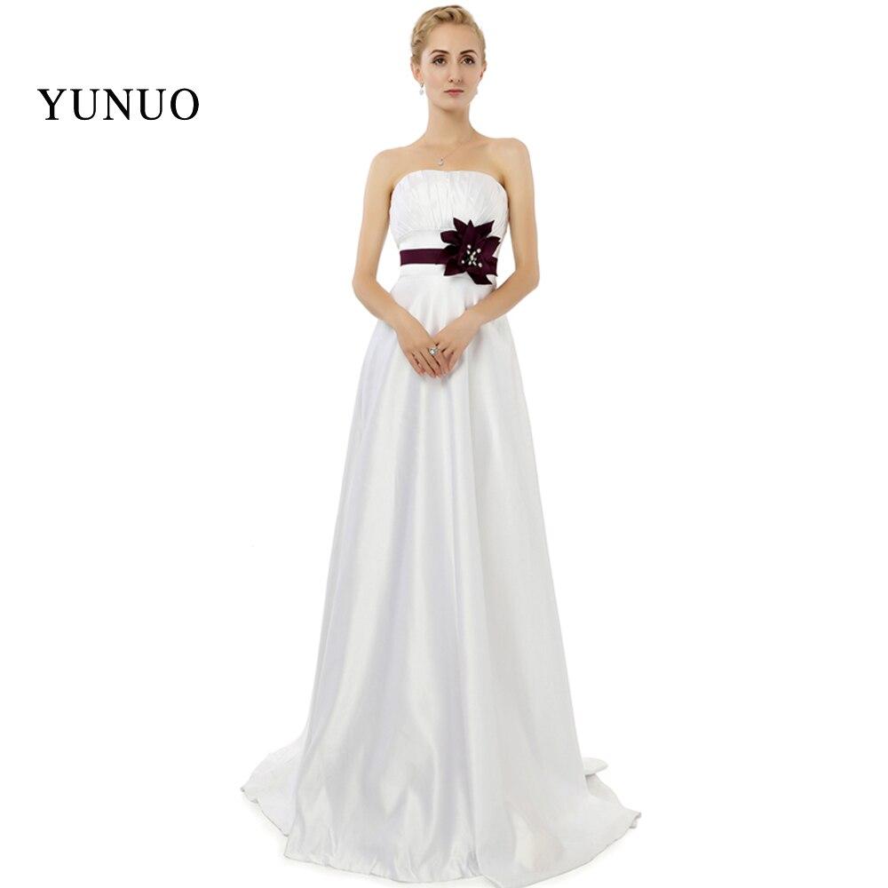 White Wedding Dress With Black Flowers: Fashinable Women Dresses Sexy Strapless Black Sash Flowers