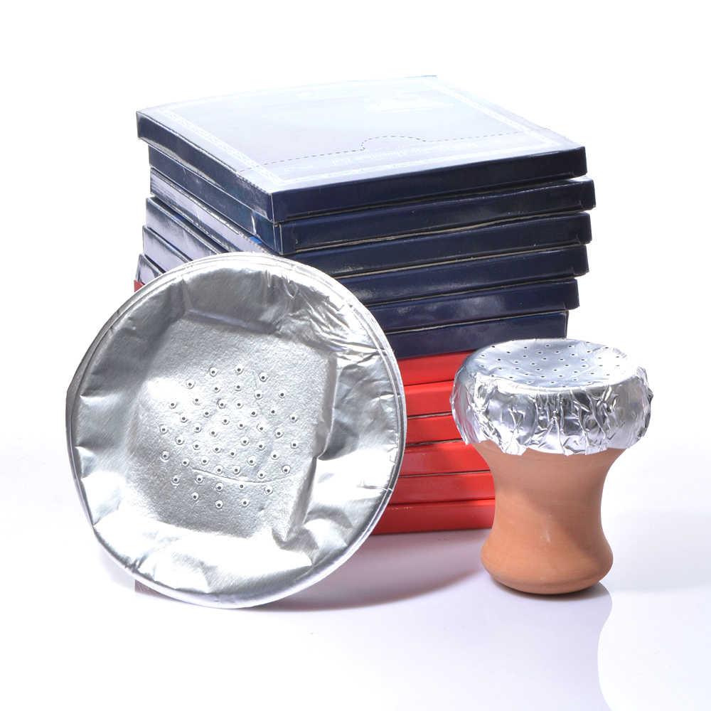 水ギセルアクセサリー赤粘土セラミック風味ボウル箔シーシャパイプ Chicha Narguile