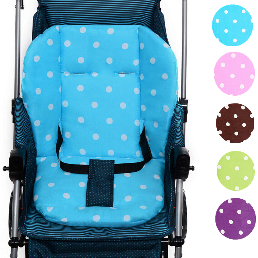 Cheap Soft Baby Stroller Seat Cushion, Thicken Breathable Kids Chair Pad, Kids Pushchair Cushion Mat Dining Chair Cushion