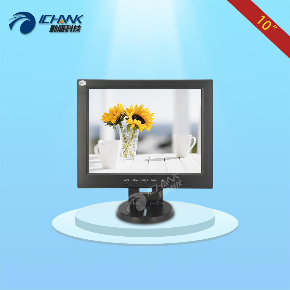 CB100JNV-2/10 inch 1024x768 4:3 VGA Signal Interface Applicable To Small Size Space Computer POS Machine Screen Display Monitor 8 4 8 inch industrial control lcd monitor vga dvi interface metal shell open frame non touch screen 800 600 4 3