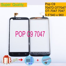 For Alcatel One Touch Pop C9 7047D OT-7047 OT7047 7047 Touch Screen Touch Panel Sensor Digitizer Front Glass Touchscreen NO LCD